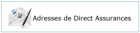 Contacter Direct Assurances par courrier