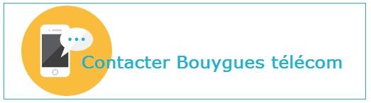 Coordonnées pour joindre Bouygues télécom