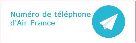 Contacter Air France par téléphone