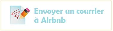 écrire à airbnb
