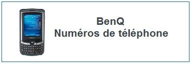 Numéro de téléphone Benq