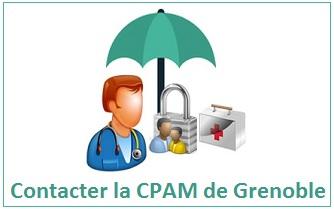 adresse, numéro, horaires de la CPAM de Grenoble