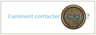 Contact Bing