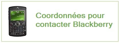 adresse, numero de telephone, site web de Blackberry