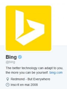 Rencontre bing