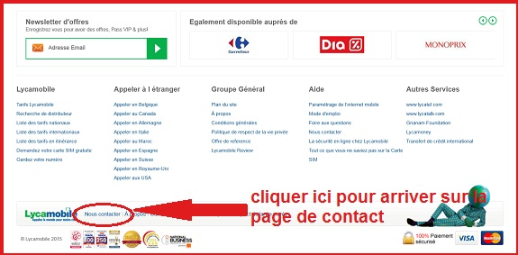 carte sim lycamobile bloquée Lycamobile : Contact et Service Clients (Telephone, Adresse)