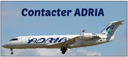 coordonnees d'Adria Airways