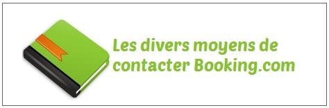 booking.com coordonnées