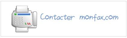 Contacter monfax