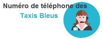 numero, adresse des taxis bleus