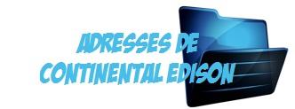 Adresse Tel Continental