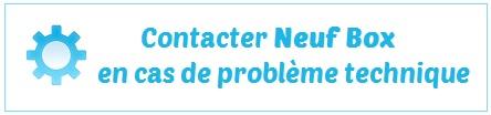 Contact SAV Neufbox