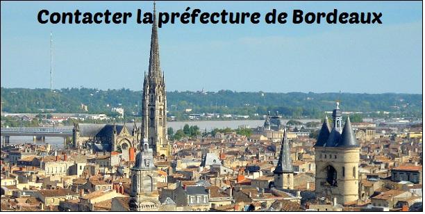 Contact préfecture Bordeaux