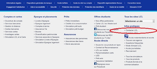 Contacter LCL particuliers