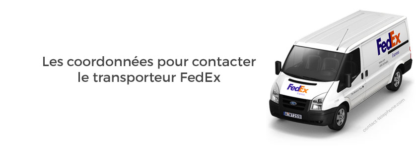 FedEx numero de telephone