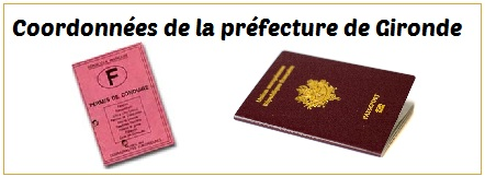 Telephone prefecture Bordeaux