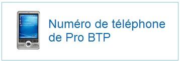téléphone Pro BTP