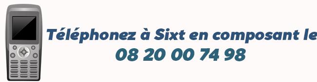 Telephone Sixt
