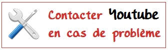 Contacter Youtube