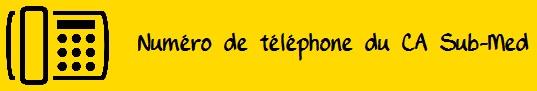Téléphone CA Sub med