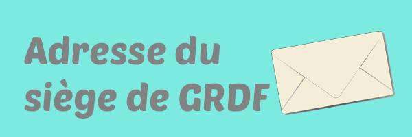 Adresse GRDF