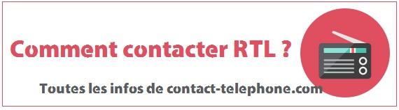 Contacter RTL