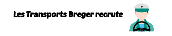emploi Transports Breger