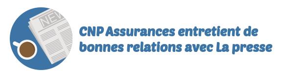 relation presse cnp assurances