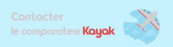 Contacter Kayak