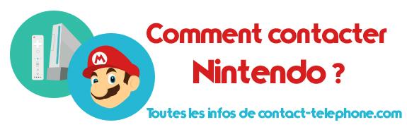 Contacter Nintendo