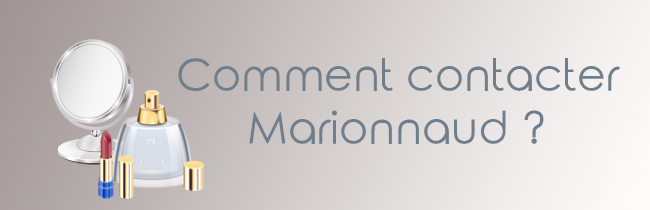 Contact Marionnaud