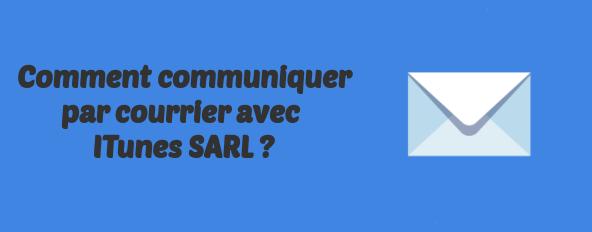 ITunes SARL contacts