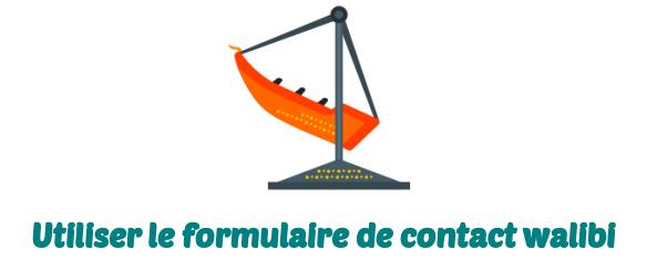 formulaire contact walibi