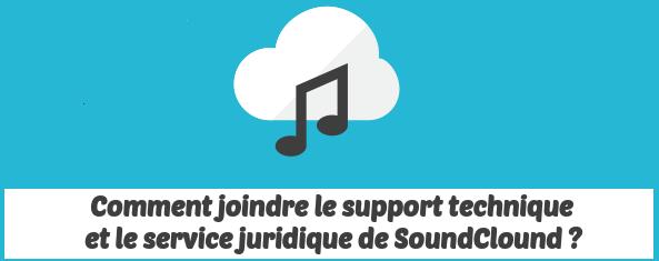 service juridique SoundClound