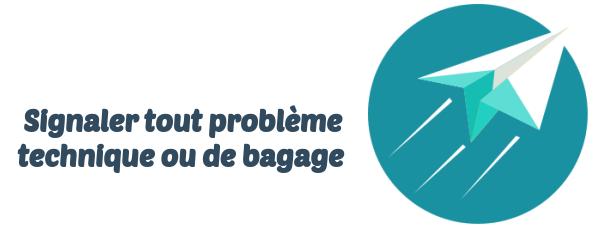 Air Transat bagagerie technique