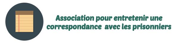 association correspondance prisonniers