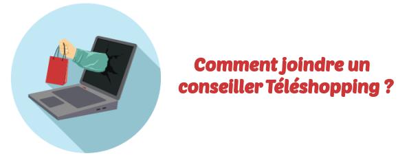 contacter conseiller Teleshopping