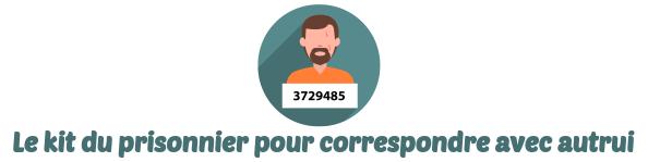 correspondance prisonnier