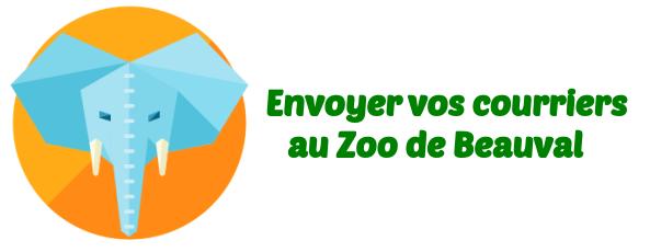 courrier Zoo de Beauval