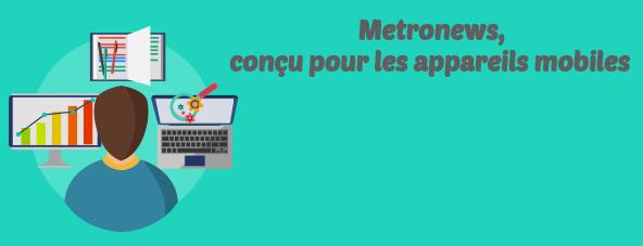 metronews appareils mobiles