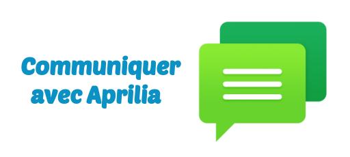 Aprilia communication