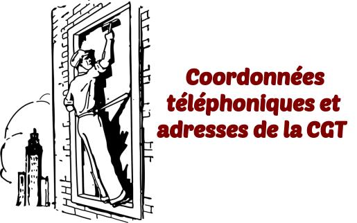 Coordonnees CGT