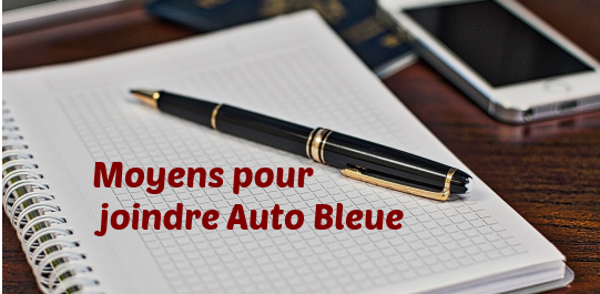 auto-bleue-communication