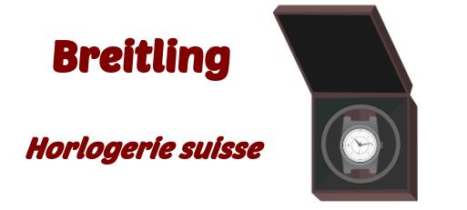 Breitling horlogerie suisse