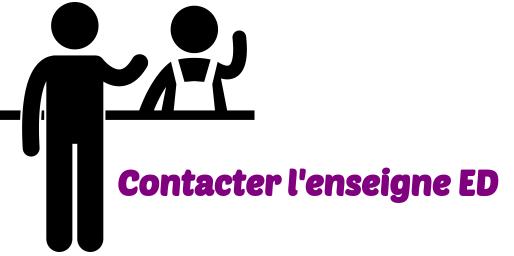 Contacter ED