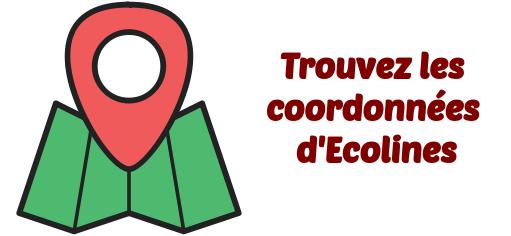 Ecolines coordonnees