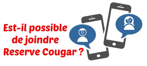 Reserve Cougar communication