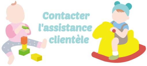 assistance clientele Autour de bebe