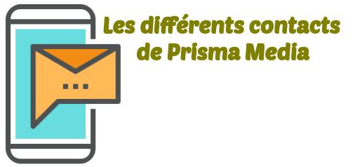 contacter Femme actuelle Prisma Media