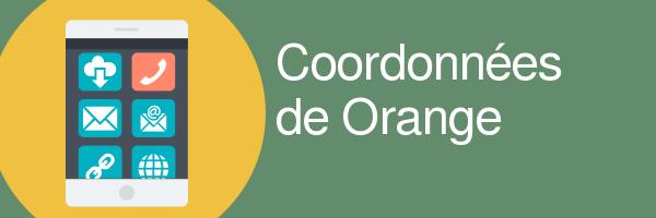 coordoonnees orange